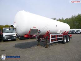 Semirimorchio cisterna a gas Van Hool Gas / ammonia tank steel 34 m3 + pump