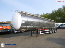 Semi remorque LAG Food / chemical tank inox 34.6 m3 / 2 comp + pump citerne alimentaire occasion