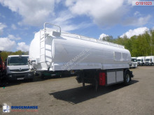 LAG Fuel tank alu 21 m3 / 4 comp + dual counter semi-trailer used tanker