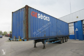 Trailer Asca Container Chassis + 40FT highcube / ROR + DRUM tweedehands containersysteem