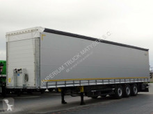 Schmitz Cargobull tarp semi-trailer CURTAINSIDER / LIFTED AXLE / 2017 YEAR /PERFECT