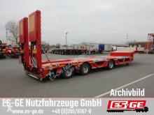 Faymonville flatbed semi-trailer 3-Achs-Satteltieflader - Radmulden - Rampen