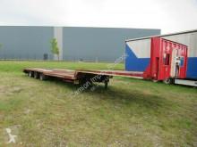 Fliegl Tieflader mit Ausziehtisch SDS 320 semi-trailer used heavy equipment transport