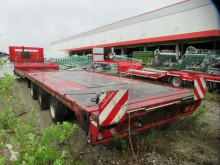 Fliegl heavy equipment transport semi-trailer SDS 320 Tieflader mit Ausziehtisch