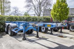 Naczepa do transportu kontenerów Asca PORTE CONTAINER 20'' - 8 Pneus/tires- ressort/spring