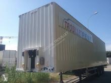 Trouillet NERVURÉES 3 ESSIEUX 38T semi-trailer used box