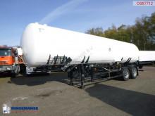 Semirimorchio cisterna a gas Gas / ammonia tank steel 37.6 m3 + pump
