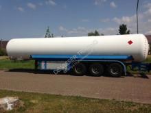 Trailer Zasta Gastank trailer 42257 liters (21 ton) Gas, LPG, GPL, GAZ, Propane, Butane ID 3.170 tweedehands tank