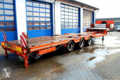 Heavy equipment transport semi-trailer De Angelis 3-Achs Tieflader 3S3B P1 gekröpft