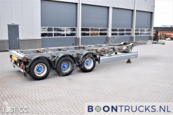 Semi remorque porte containers Schmitz Cargobull SCF 24 G | 2x20-30-40ft HC * EXTENDABLE REAR