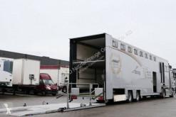 Semi remorque porte voitures Montracon V2A-SG Racing