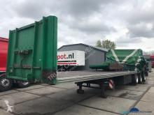 Van Hool Schuifzeilen-Flat bed-extendable floor Meeneem heftruck constructie semi-trailer used tautliner