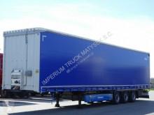 Krone tarp semi-trailer CURTAINSIDER /MEGA/ LIFTED AXLE/PALLET BOX/RSAB