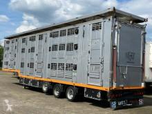 Sættevogn Menke 3 Stock Lift Typ2 Lüfter Tränk Großvieh anhænger til dyretransport brugt