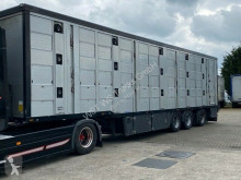 Semi reboque transporte de animais Menke 3 Stock Lüfter Lenk Lift Vollalu