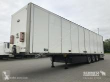 Semi remorque fourgon Schmitz Cargobull Trockenfrachtkoffer Faltwand Faltwandtür links