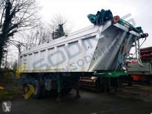 Kaiser ALU semi-trailer used heavy equipment transport