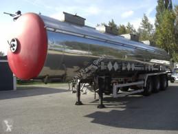 Magyar SR34BD / ALKOHOL / PUMPE semi-trailer used tanker