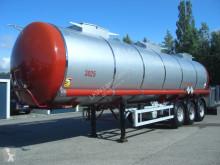 Semi reboque Schrader OHNE BEZ. / 3 KAMMERN ADR cisterna usado
