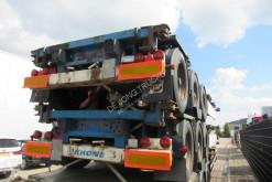 Semi remorque Krone SDC 27 / Container Chassis / BPW + Drum / 2x in stock porte containers occasion