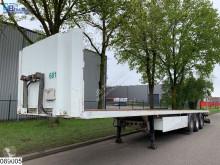 Lecitrailer flatbed semi-trailer open laadbak Drum brakes