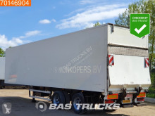 Groenewegen box semi-trailer DRO-14-20 B Steeraxle Taillift / LBW
