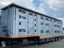 Semi reboque transporte de animais Menke 3 Stock Lift Typ2 Lüfter Tränk Großvieh