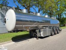 Magyar tanker semi-trailer Chemie 29870 Liter, Pump, Liquid counter