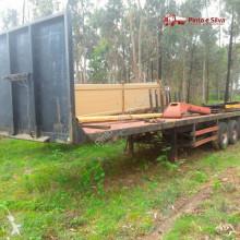 Fruehauf flatbed semi-trailer T34C1NL