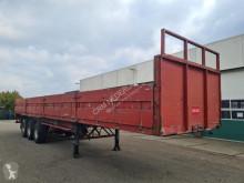 LAG flatbed semi-trailer Platform met borden
