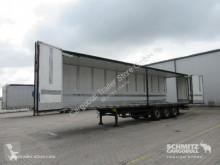 Sættevogn kassevogn Schmitz Cargobull Trockenfrachtkoffer Faltwand Doppelstock Faltwandtür links