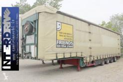 Meusburger heavy equipment transport semi-trailer carrellone centinato 4assi coils usato