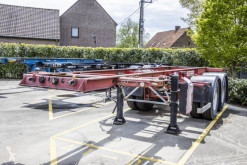 Полуремарке контейнеровоз Fruehauf CONTAINER 20' -8 pneus-Rockinger-Spring/Lames