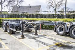 Semi reboque porta contentores Fruehauf CONTAINER 20' - 8 pneus-Rockinger-Spring/Lames