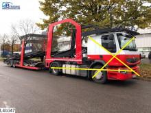 Semi remorque Lohr Eurolohr Eurolohr, Car transporter, Combi porte voitures accidentée