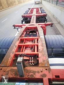 Naczepa Fliegl SDS EXTENSIBLE do transportu kontenerów używana
