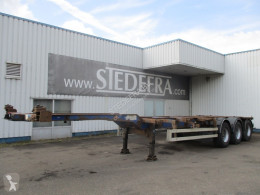 Полуремарке Wielton NS34P , Container trailer , 3 ROR axles , drum brakes , air suspension контейнеровоз втора употреба
