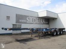 Konténerszállító félpótkocsi VIP, container trailer , 3 BPW axles , drum brakes , Spring suspension