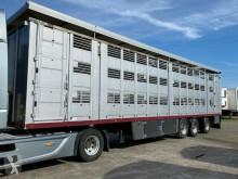 Полуремарке ремарке за превоз на животни Menke Menke 3 Stock Lenk Lift Vollalu