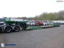 Полуремарке Broshuis 4-axle lowbed trailer 88 t / extendable 11 m + 4 steering axles платформа втора употреба