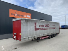 Semi remorque Krone Mega, SAF+DISC (intradisc), Liftaxle, Raising-roof, Timberstakes, Code-XL, NL-trailer rideaux coulissants (plsc) occasion