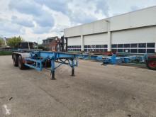 Návěs Fruehauf Container chassis 40ft. / Full Steel nosič kontejnerů použitý