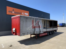 Semi remorque rideaux coulissants (plsc) Krone Bordwandsider, BPW, Discbrakes, Liftaxle, Palletbox, 2.80m int. height, NL-trailer