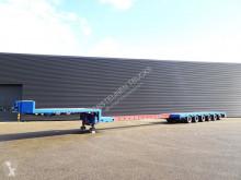 Полуремарке Broshuis 64H5S / STEERING AXLE / EXTENDABLE превоз на строителна техника втора употреба