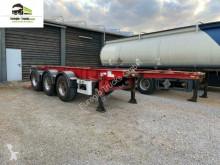 Semirremolque Van Hool 3-achs Containerchassis ADR 20 ft chasis usado