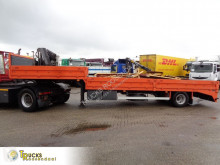Semitrailer Reisch RPTS-11/7 + platta begagnad