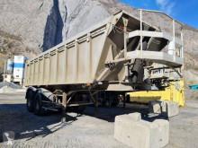 Semitrailer General Trailers lastvagn bygg-anläggning begagnad