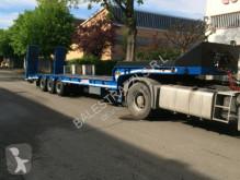 Semi-trailer used heavy equipment transport