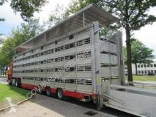 Semi remorque bétaillère bovins Pezzaioli SBA 31 G