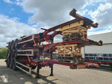Semitrailer HFR Container chassis 40ft. Multi containertransport begagnad